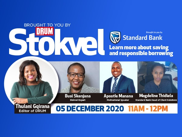 JOIN OUR STOKVEL EVENT FOR FREE!