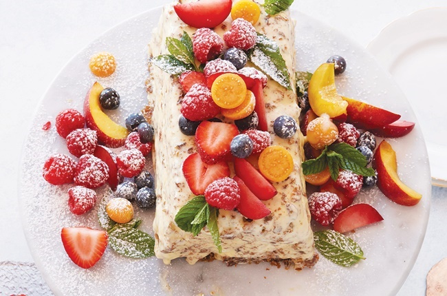A summery, festive dessert that won't keep you in the kitchen all day