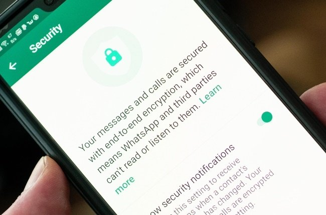 All your messages and calls on WhatsApp are secure