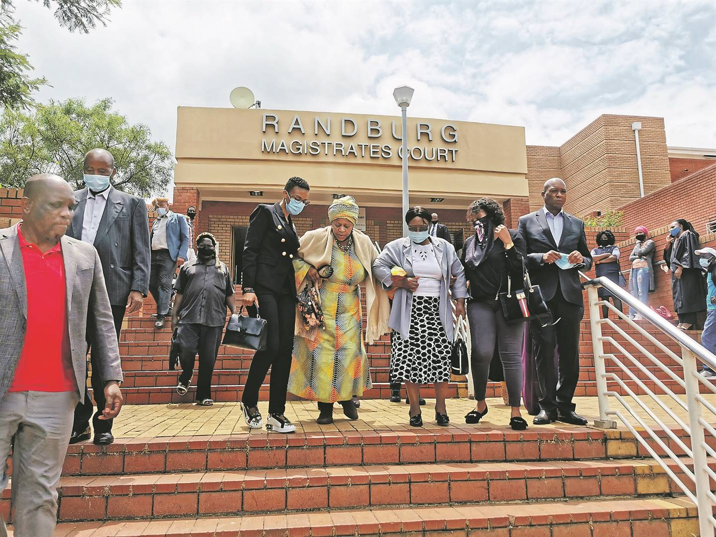 Members of the Zulu royal family were present in court when the accused, who were allegedly involved in the death of Prince Lethukuthula Zulu, appeared in the Randburg Magistrate's Court.