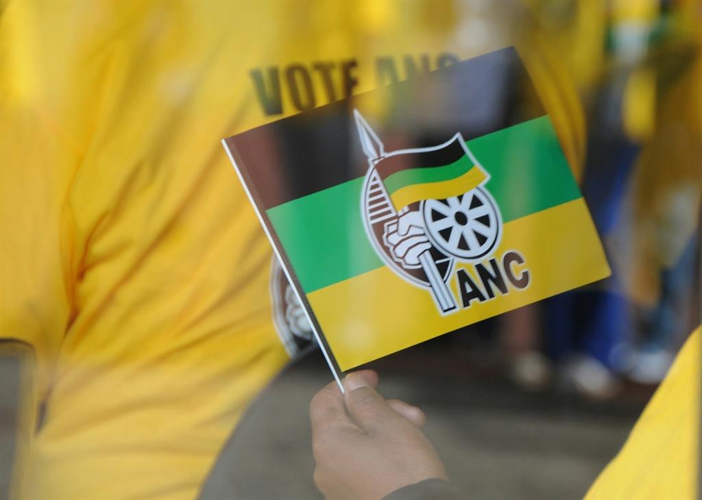 An ANC flag.