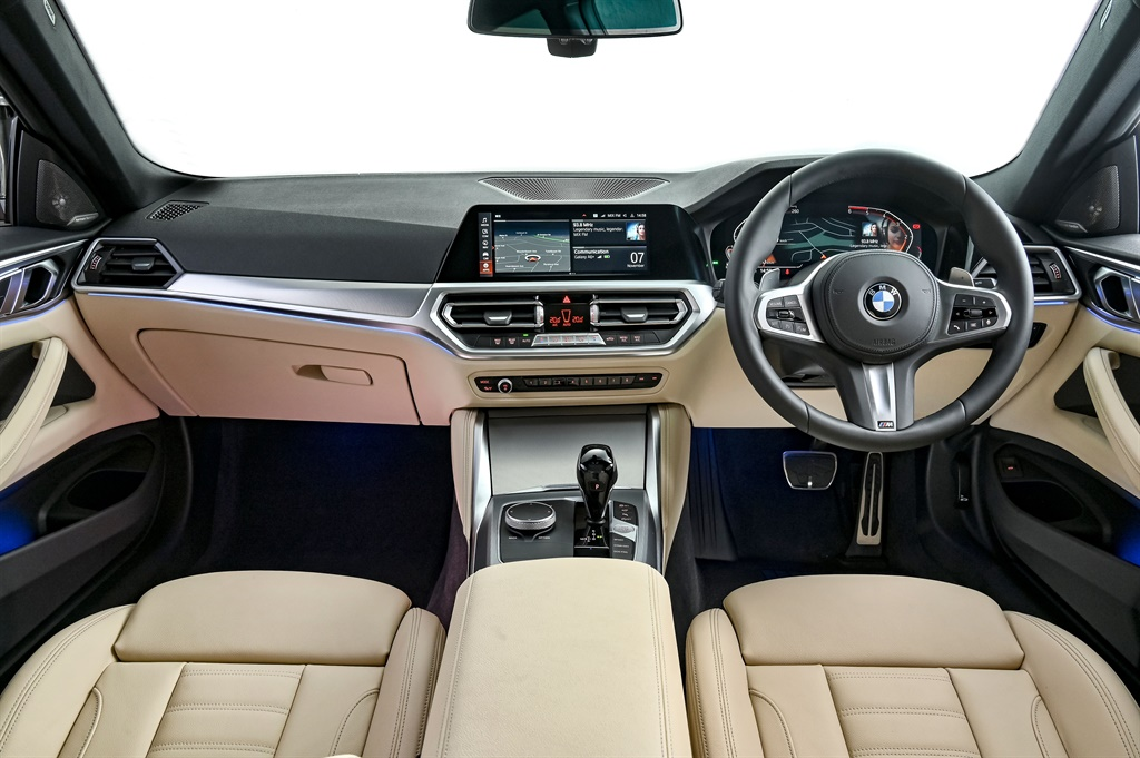 The new BMW 4 Series interior