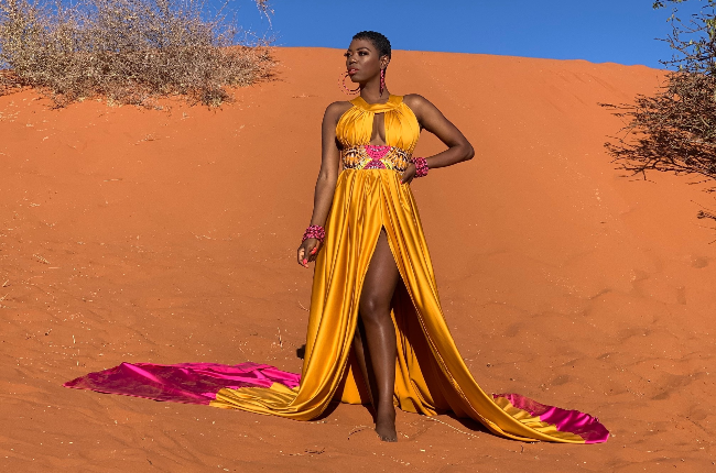 Lira couldn't get enough of the natural beauty in Namibia and spent seven months in the country. (Photo: Instagram/Miss_Lira)