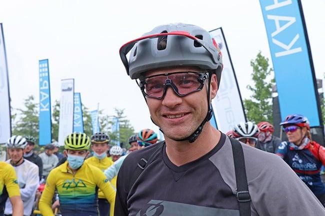 Greg Minnaar at Sani2C. (Photo: Maryann Shaw)