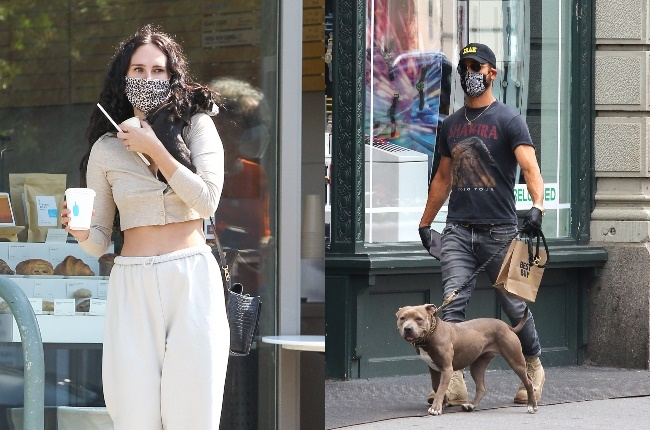 We love nothing more than seeing our favourite stars with their four-legged friends. PHOTO: Getty Images / Gallo images
