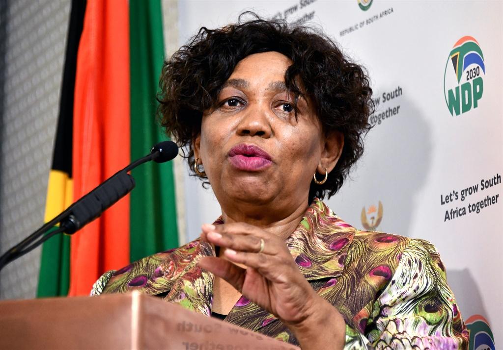 Minister of Basic Education, Ms Angie Motshekga gi