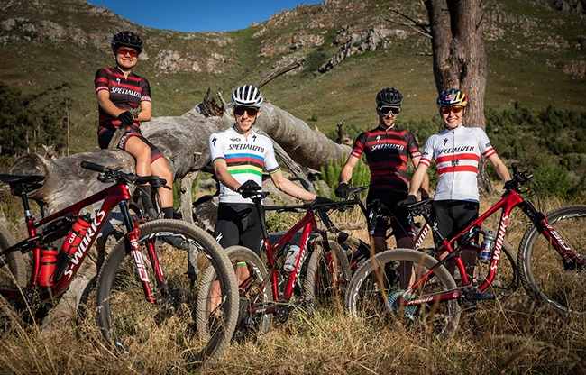 Some of the world's best mountain bikers have escaped the snow to spend summer in the Boland. (Photo: Michal Cerveny)
