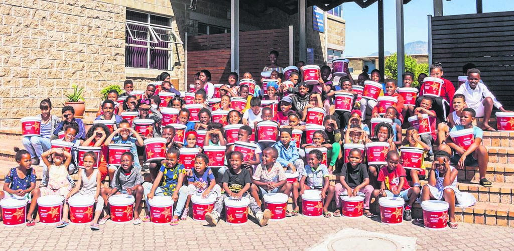Christel House SA is calling on donors to assist them in providing a Bucket of Hope to needy learners.