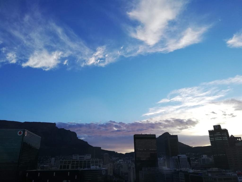 A fine day in Cape Town.