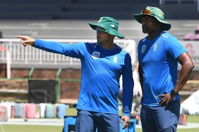 Mark Boucher and Enoch Nkwe might have to split up to help the Proteas juggle their assignments against Pakistan and Australia (Gallo Images)
