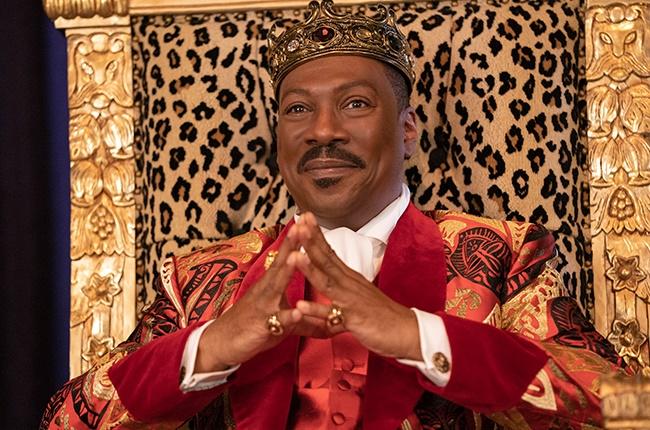 Eddie Murphy as Prince Akeem Joffer: the prince of Zamunda.