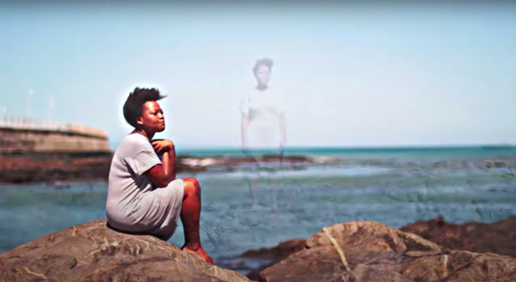 Koleka Putuma teamed up Ecuadorian fimmaler Josè Cardoso to film visuals for the poem, Water.  Water speaks about racism, spirituality and what water means. (Photo: Screengrab)