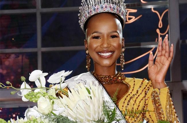 Miss SA 2020 Shudufhadzo Musida