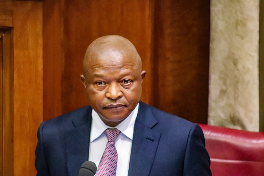 Deputy President David Mabuza answering questions in the NCOP. (File, Jan Gerber, News24)