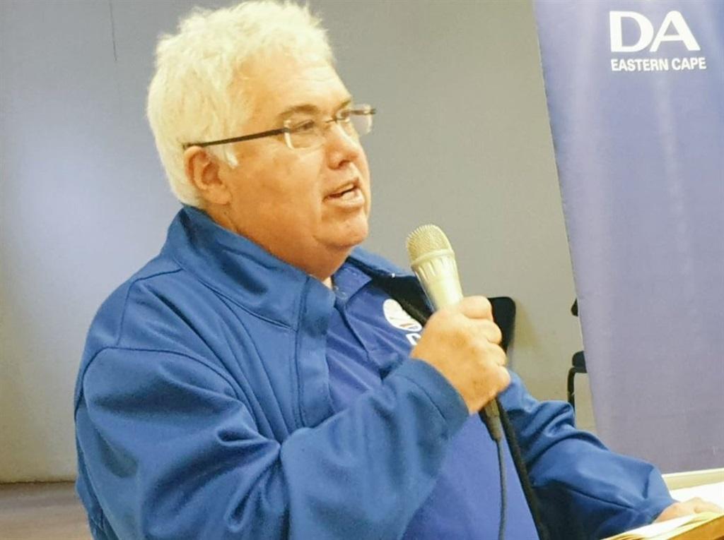 Bobby Stevenson, DA leader in the Eastern Cape provincial legislature