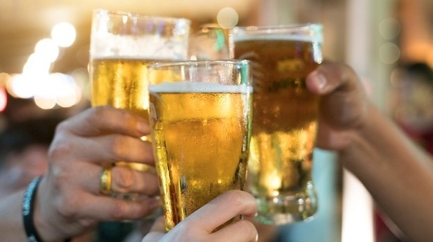 There is concern after East London youngsters were seen celebrating the lifting of the alcohol sales ban.