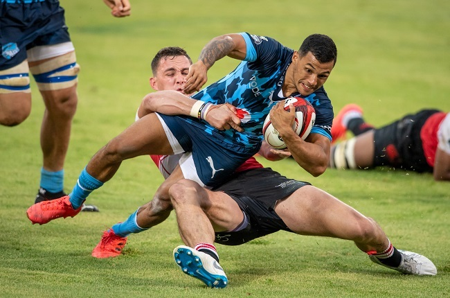Bulls halfback Embrose Papier scored the only try of the match (Gallo Images)