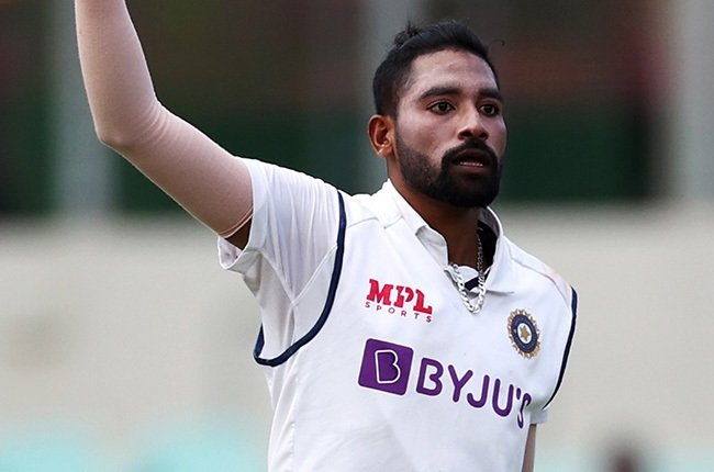 Mohammed Siraj. (Photo by Cameron Spencer - Cricket Australia via Getty Images)