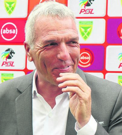 Maritzburg United coach Ernst Middendorp has managed to lift the club from the bottom of the DStv Premiership table.