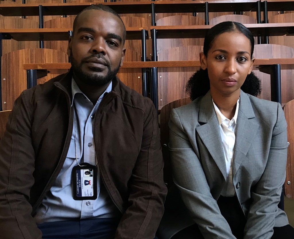 Alfred Munyua and Sarah Hassan in Crime & Justice. (Photo: Showmax/Canal+)