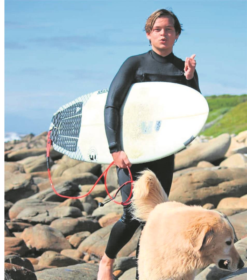 Daniel Thetard is one of three learners from Camps Bay High who recently received their Lifeguard Award to become lifeguards for DHL Clifton Surf Lifesaving club.  PHOTO: SUPPLIED
