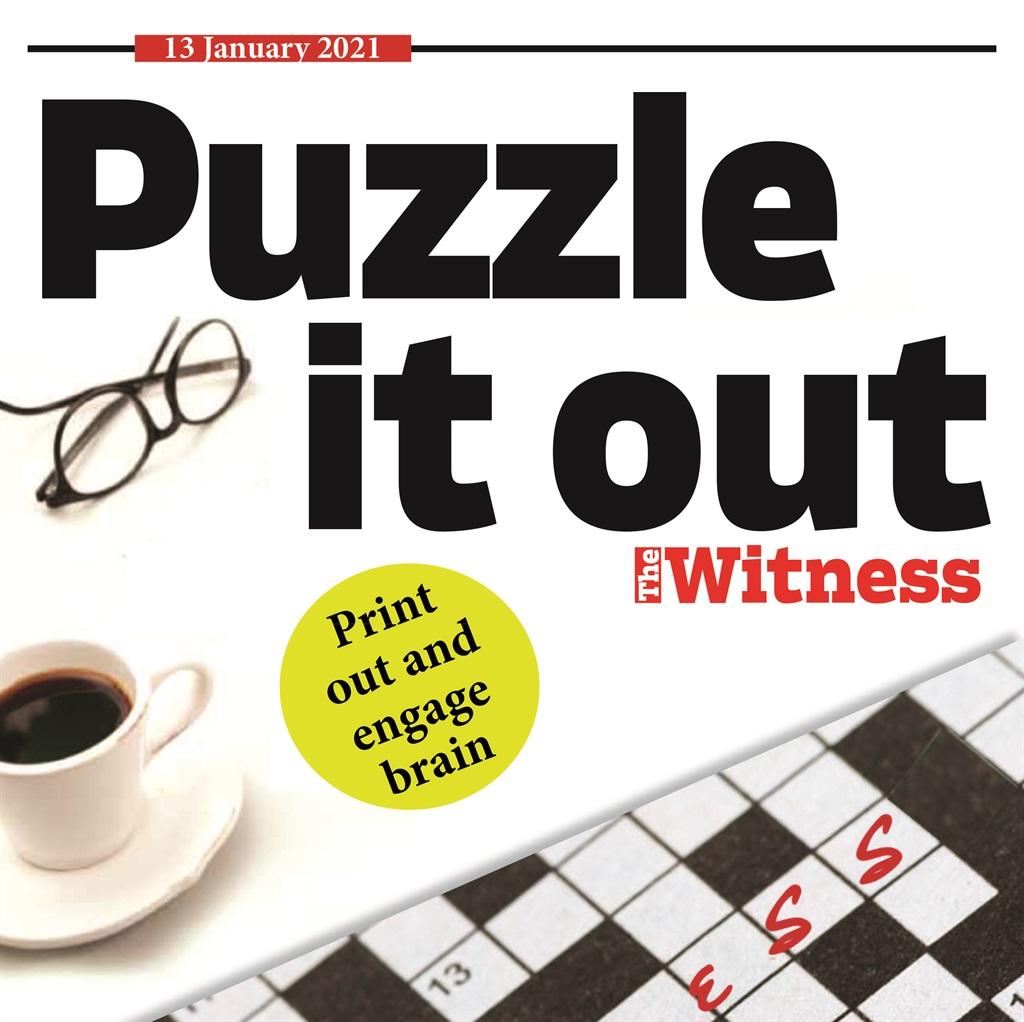 Puzzles, January 13, 2021.