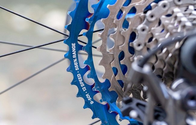 To conquer the steepest hills, you can never have too much gearing. (Photo: e*thirteen)
