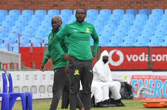 Steve Komphela and Rulani Mokwena (Gallo Images)