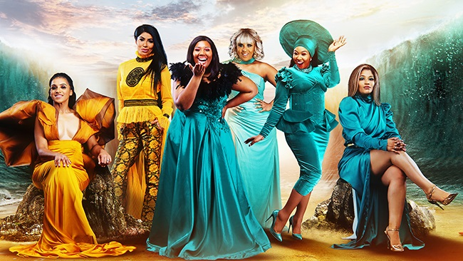 The fantastic cast of The Real Housewives of Durban. (Photo: Showmax)