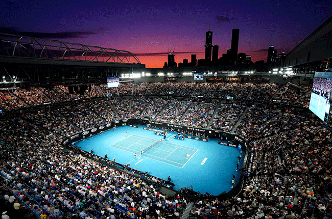Rod Laver Arena in Melbourne Park at Australian Open
