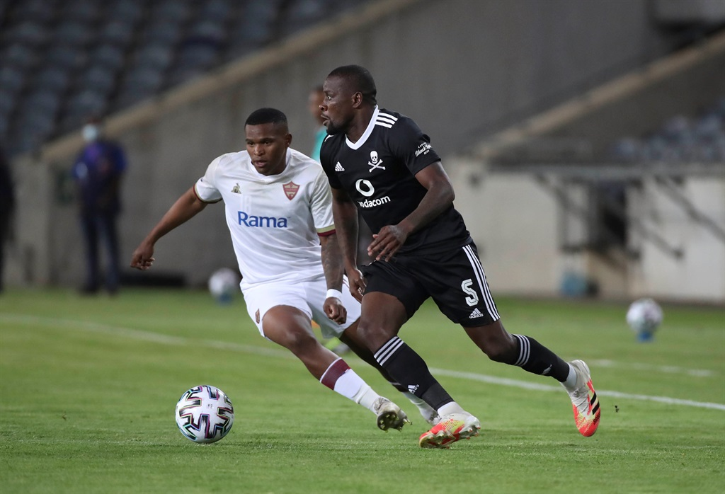 Ntsikelelo Nyauza has played every minute for Orlando Pirates in all competitions so far this season. Picture: Gavin Barker/BackpagePix/Gallo Images