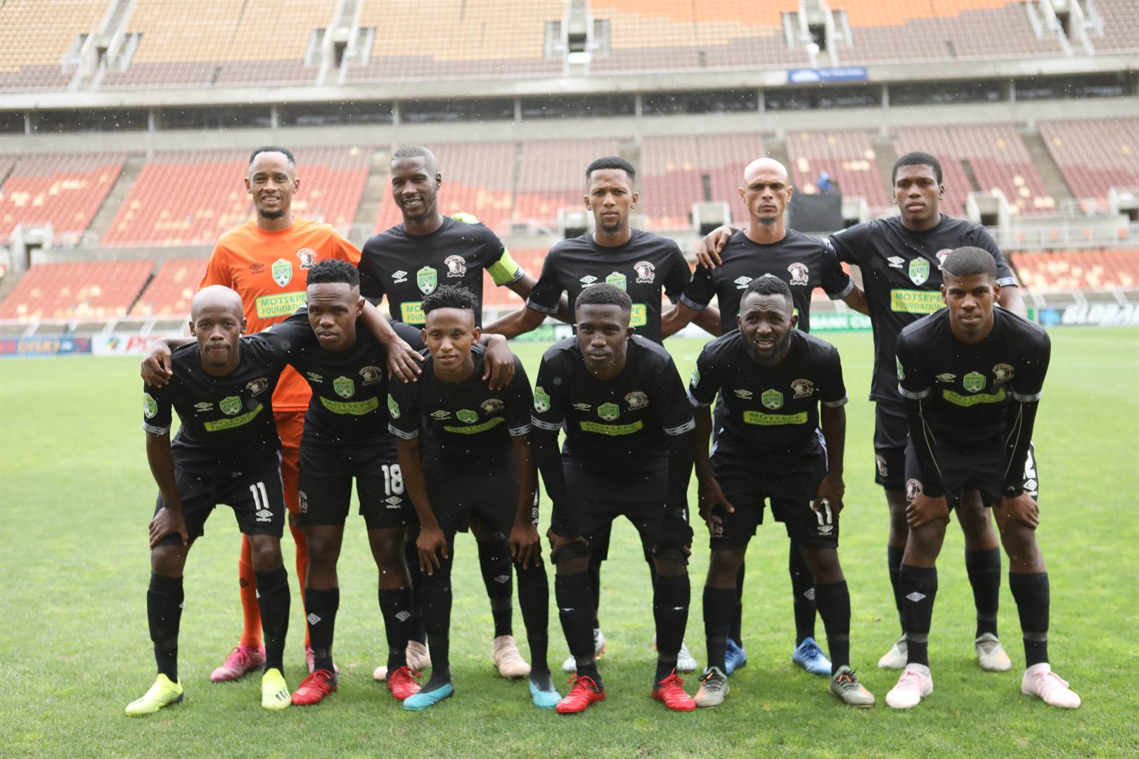 Hungry Lions from Kimberley reached the Nedbank Cup Last 16 in the previous campaign. Picture: Philip Maeta / Gallo Images