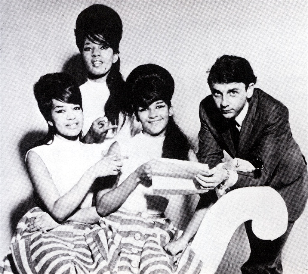 Phil Spector with The Ronettes.  Spector died of covid-19 complications over the weekend.(Photo: Getty Images)