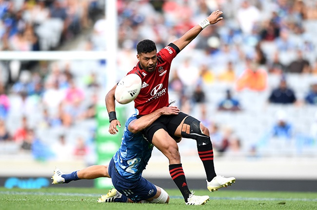 Mo'unga produces masterclass as Crusaders topple Blues | Sport