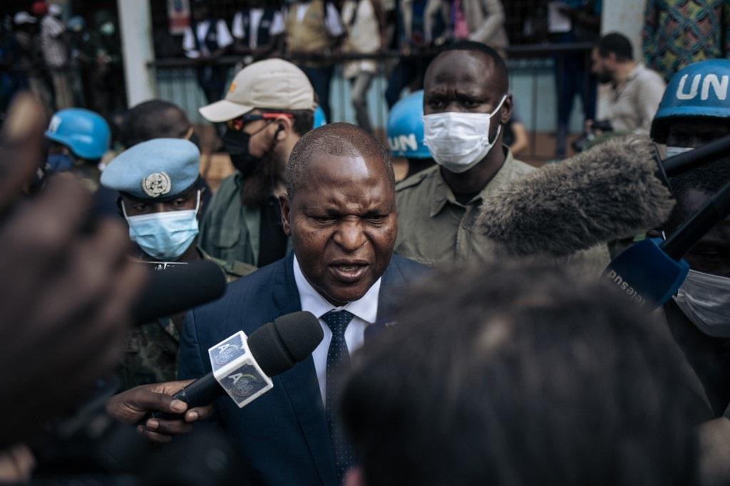 Central African Republic President Faustin Archange Touadera (Alexis Huguet, AFP)