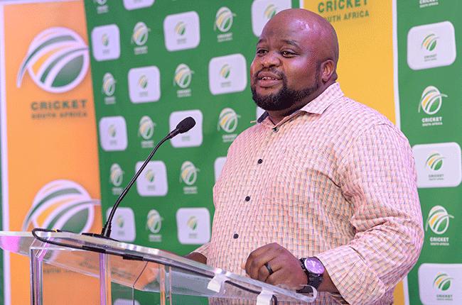 Cricket South Africa's Eddie Khoza
