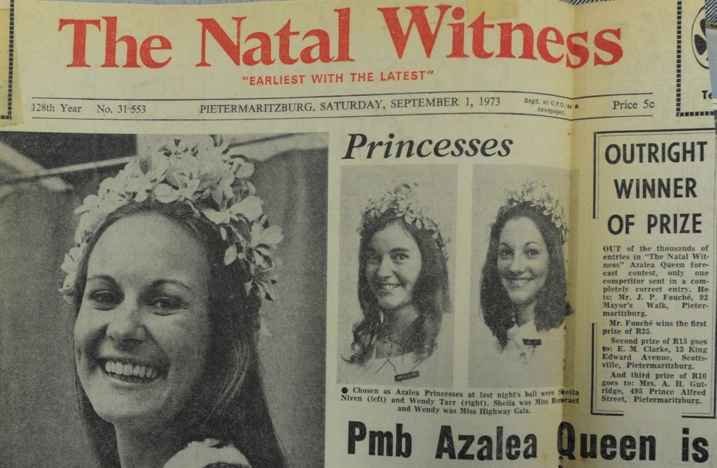 A copy of The Witness  in 1973.