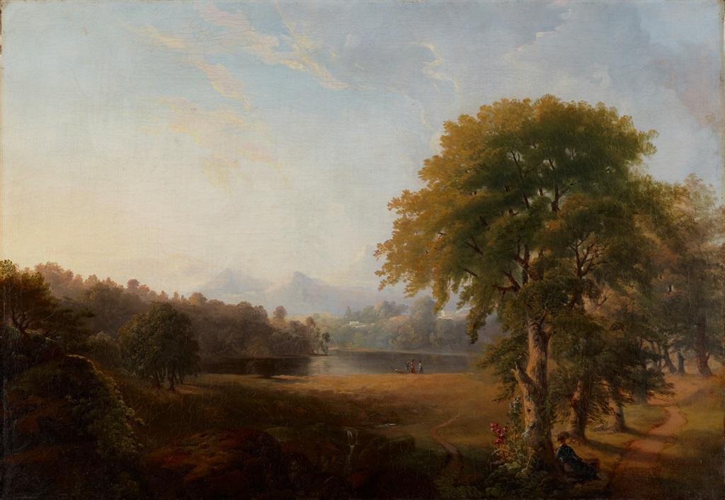 Untitled (Landscape). Robert S. Duncanson