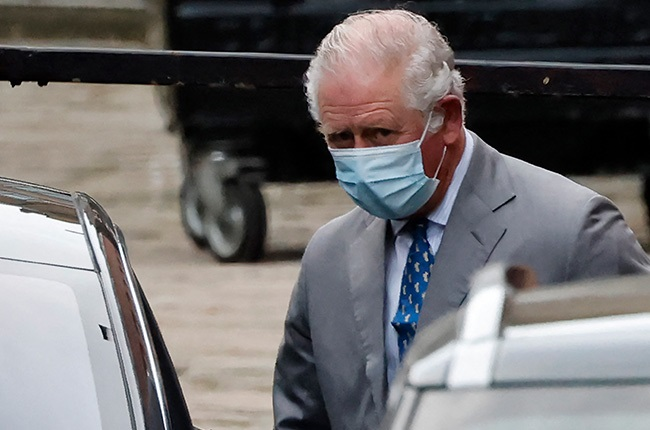 Britain's Prince Charles, Prince of Wales leaves the King Edward VII hospital in central London.