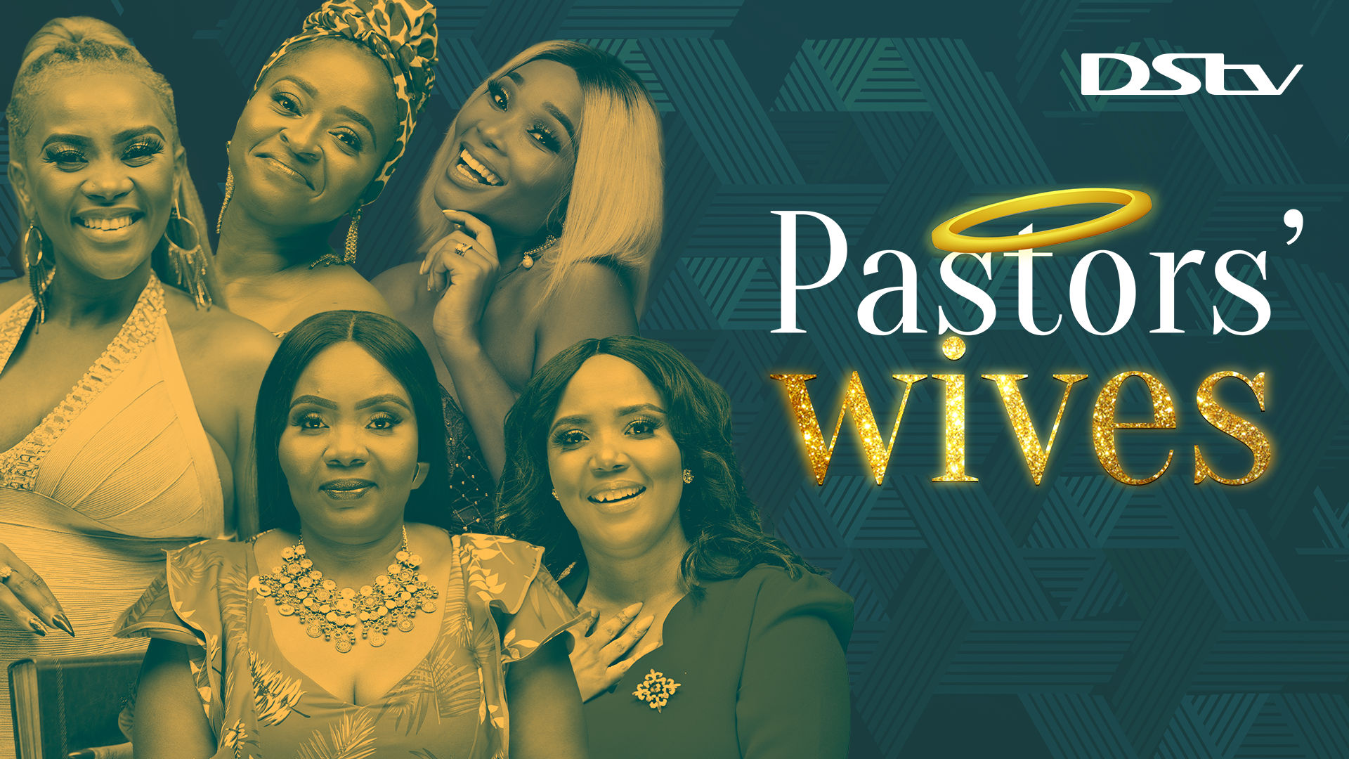 BEHIND THE PULPIT: The cast of Pastors' Wives. Picture: supplied