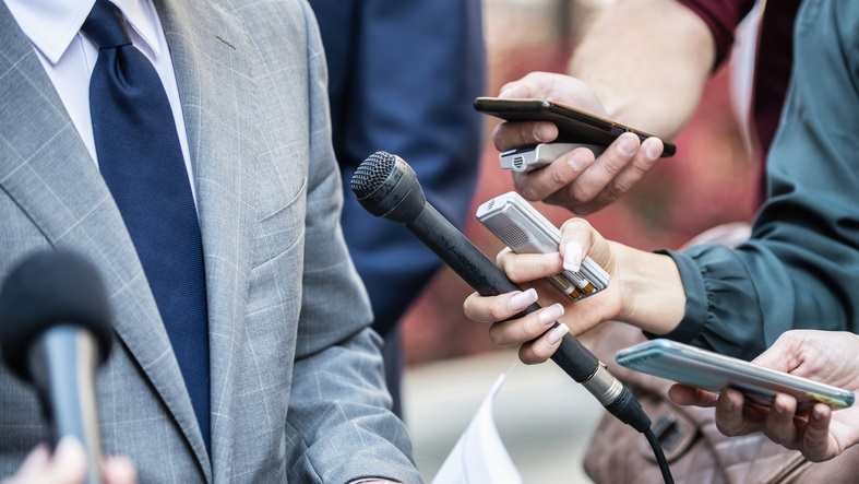 The writer argues that a free, independent media is needed to save democracy. (Getty Images)