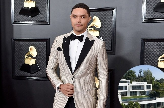 Trevor Noah snapped up a R420m mansion nestled in posh Bel-Air estate in Los Angeles (Photos: Getty Images/Gallo Images)