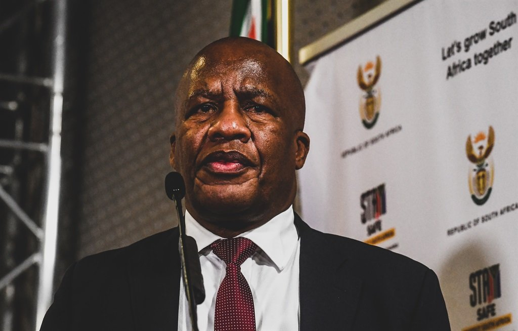 Minister in the Presidency Jackson Mthembu died of Covid-19-related complications. Picture: Sydney Seshibedi/Gallo Images via Getty Images)