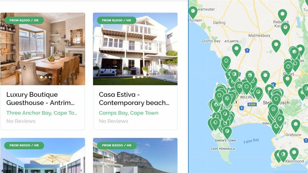 Filmscape film industry airbnb South Africa