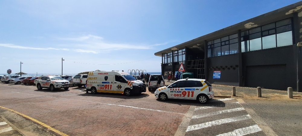 Durban child rescued after being washed off the rocks