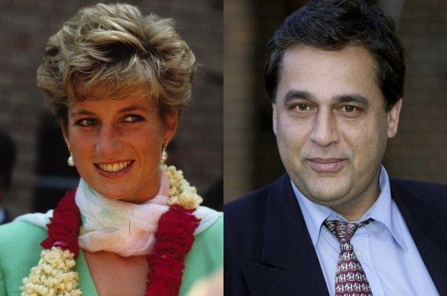 British-Pakistani heart surgeon Hasnat Khan gave Princess Diana the attention and affection she so craved after her years of bitterness with Prince Charles. (Photos: Getty Images/Gallo Images)