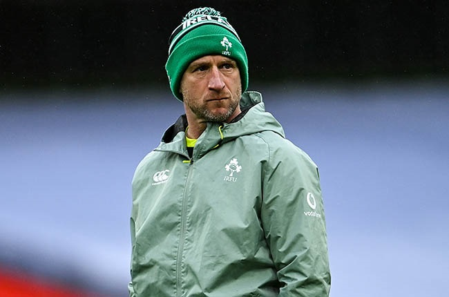 Ireland assistant coach Mike Catt. (Photo by Ramsey Cardy/Sportsfile via Getty Images)