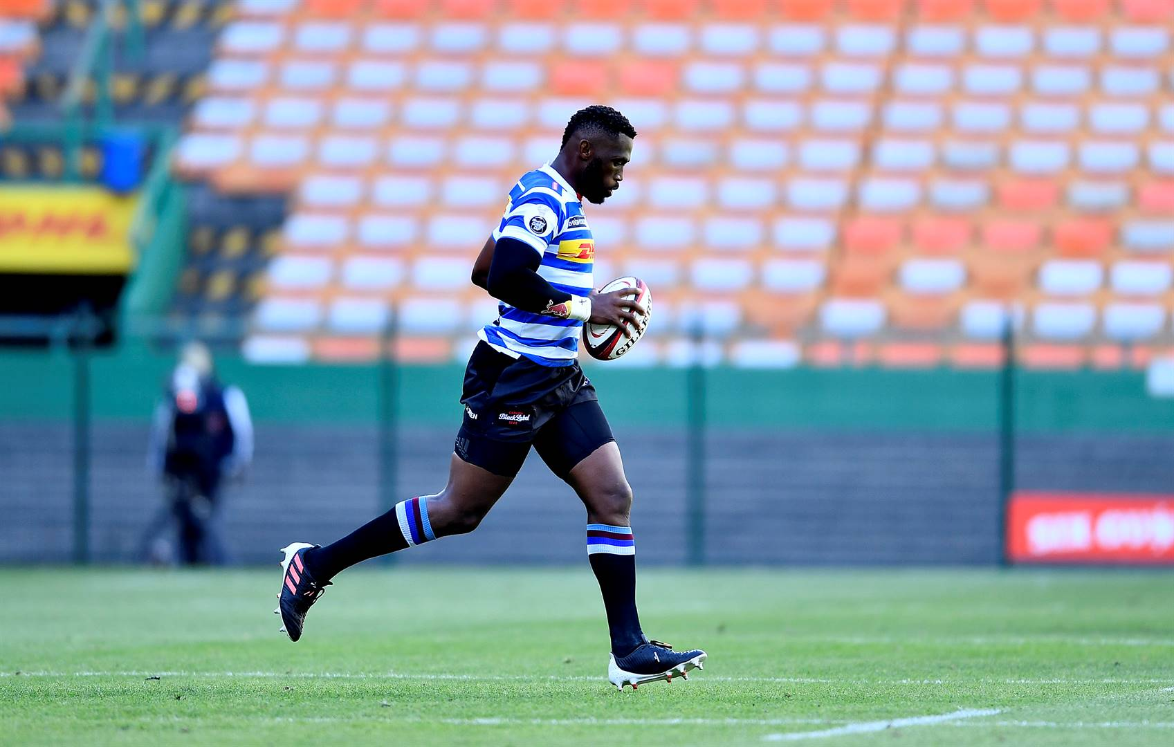 One thing nobody can dispute is that the quality of Kolisi's on-field performances has fallen off a cliff. Picture: Gallo Images