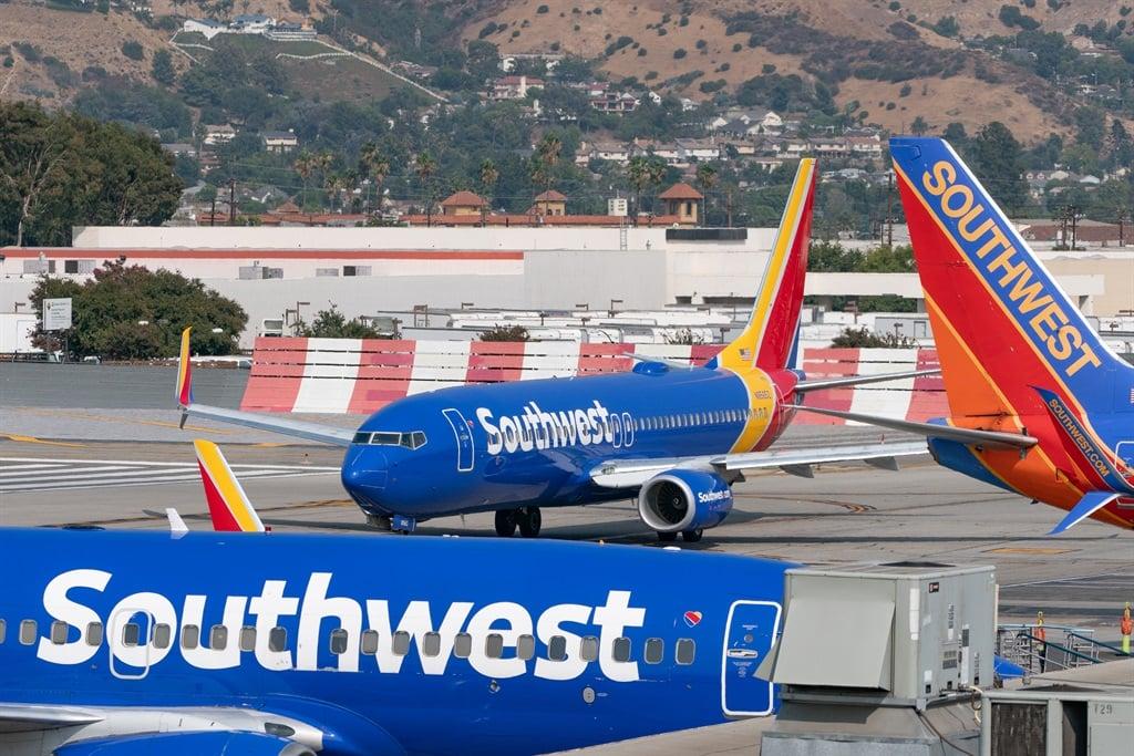 BURBANK, CA - SEPTEMBER 16: Southwest Airlines Boe