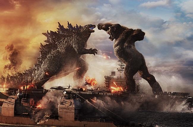 A scene in Godzilla vs Kong.